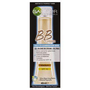 Garnier Miracle Skin Perfector Oil-Free BB Cream Medium Beige 40ml