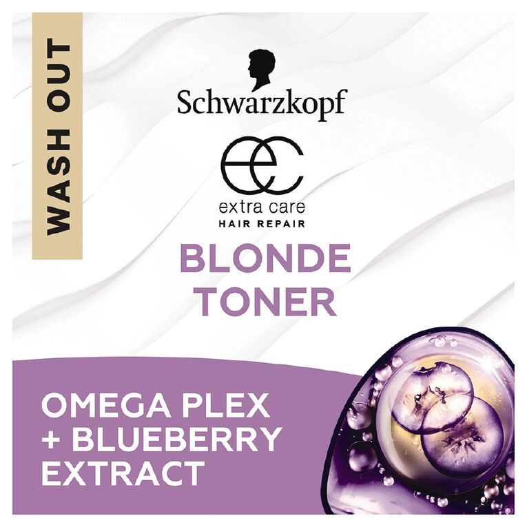 Schwarzkopf Extra Care Blonde Anti-Yellow Toner 250ml, , hi-res