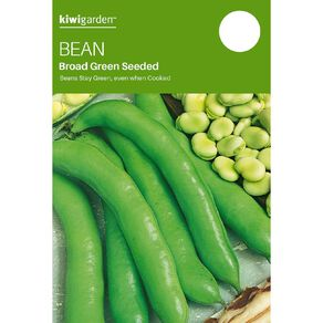 Kiwi Garden Broad Bean Green Seeded