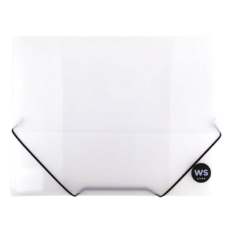 WS Wallet PP Elastic Clear A4, , hi-res