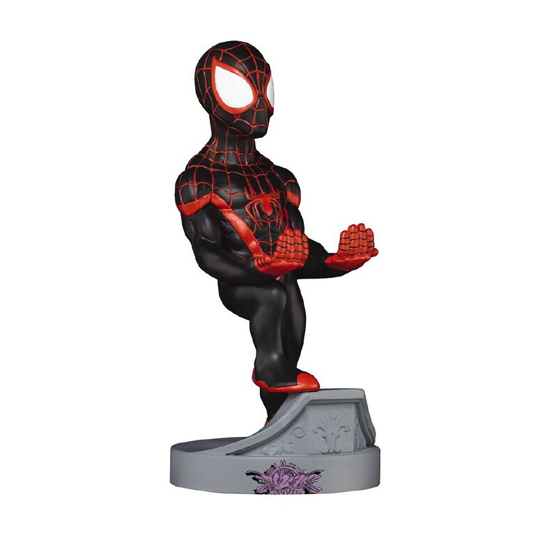 Cable Guys Spiderman Miles Morales, , hi-res