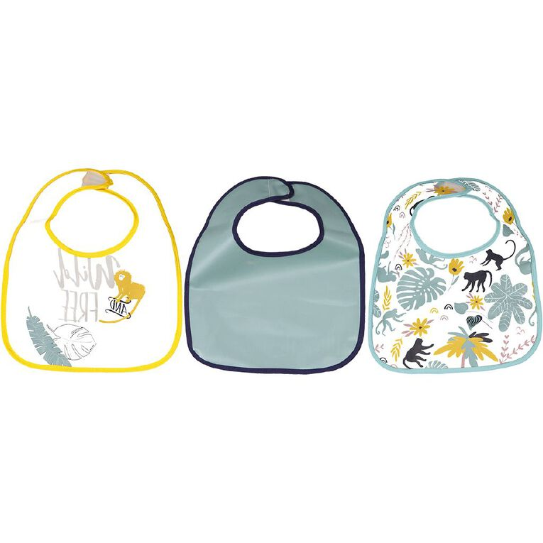 Babywise Bibs Assorted 3 Pack, , hi-res