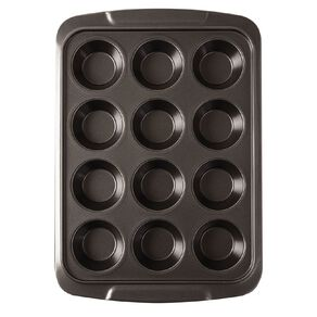 Living & Co Heavy Gauge Non Stick Muffin Tray 12 Cup