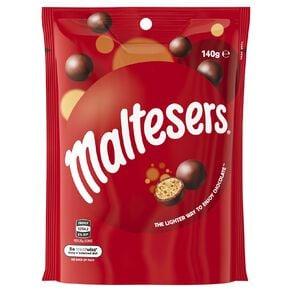 Maltesers Milk Chocolate Bag 140g