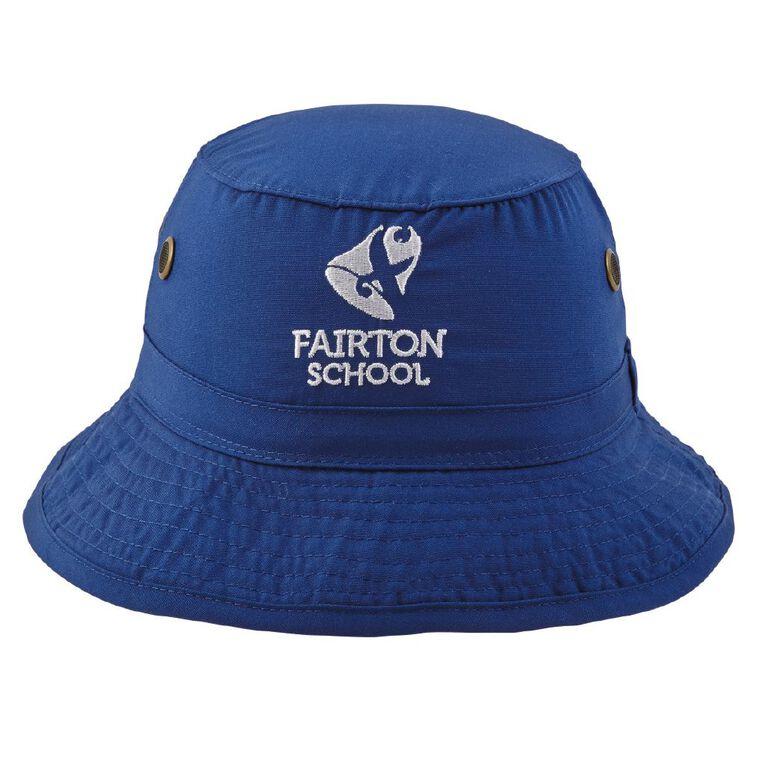 Schooltex Fairton School Bucket Hat with Embroidery, Royal, hi-res