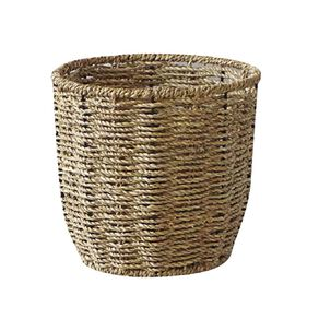 Living & Co Round Seagrass Basket Natural Small