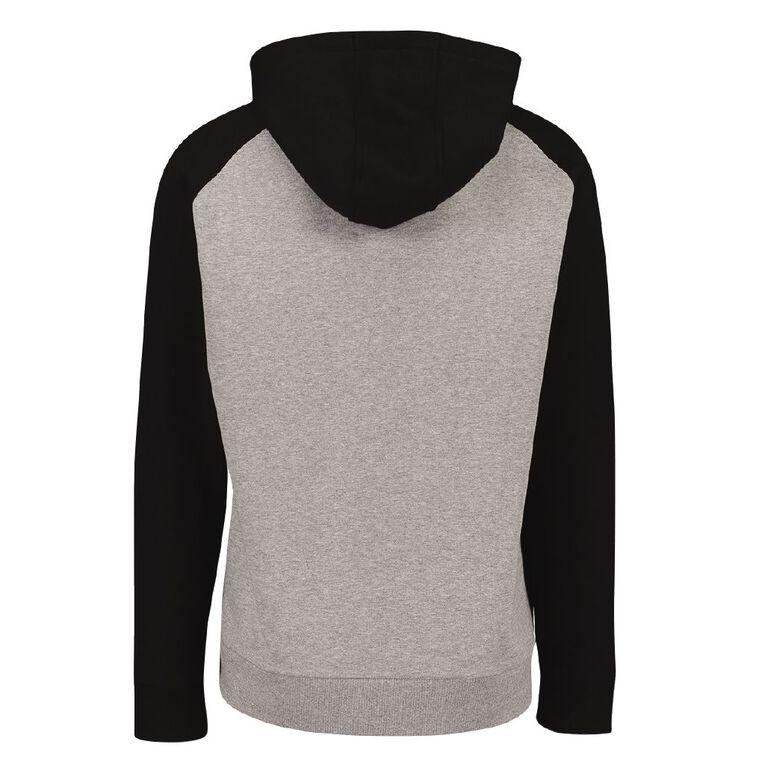 Team Nz Men's Raglan Sweatshirt, Grey Marle, hi-res
