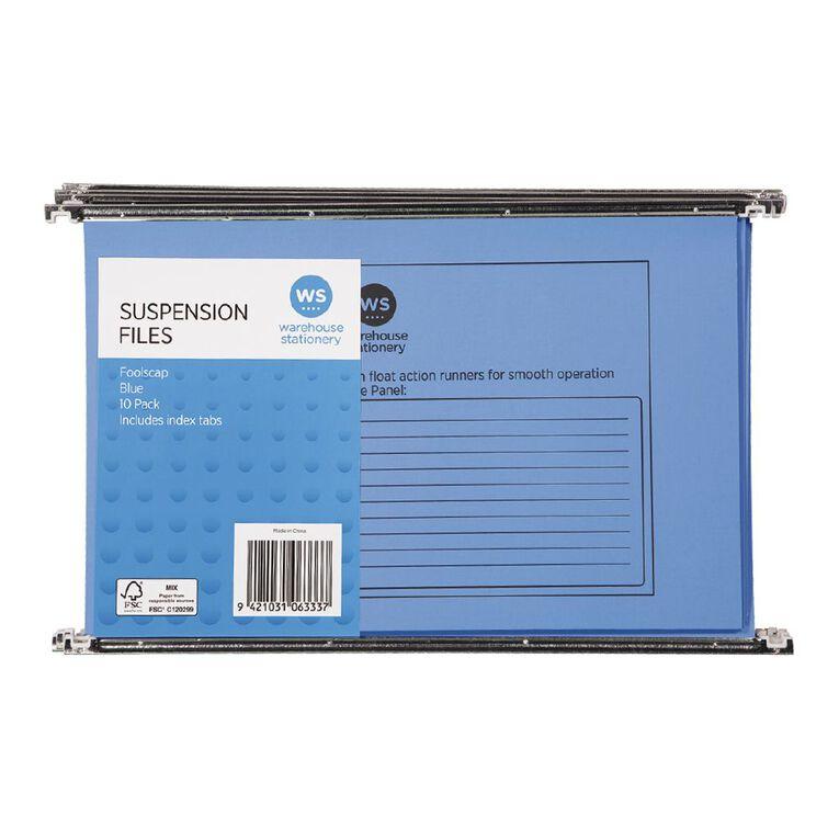 WS Suspension File 10 Pack Blue, , hi-res