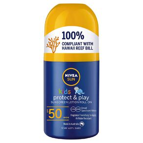 Nivea Sunscreen Kids SPF50 Roll-On