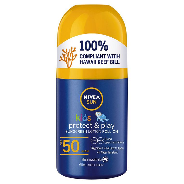 Nivea Sunscreen Kids SPF50 Roll-On, , hi-res
