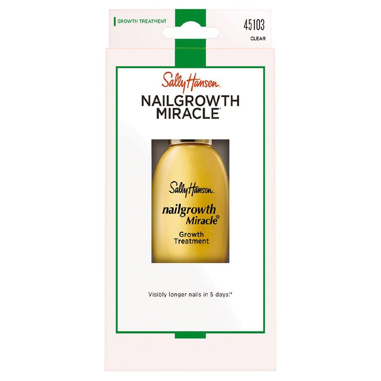 Sally Hansen Nail Growth Miracle Salon Strengthening Treatment, , hi-res