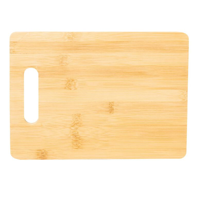 Living & Co Bamboo Chopping Board Set 3 Pack, , hi-res