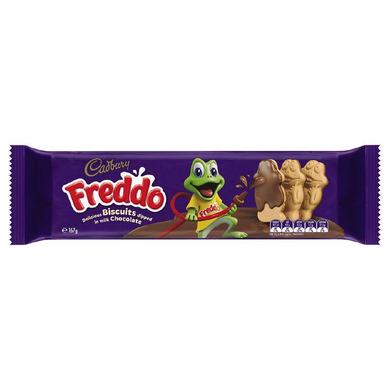 Cadbury Freddo Biscuits 167g, , hi-res