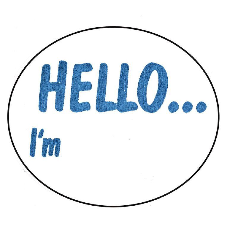 Avery Hello I'm Dispenser Labels Handwritable 58x43mm 100 Labels, , hi-res