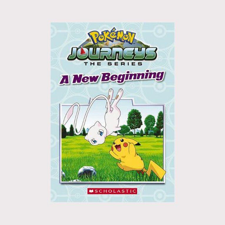 Pokemon Journeys #1 A New Beginning, , hi-res