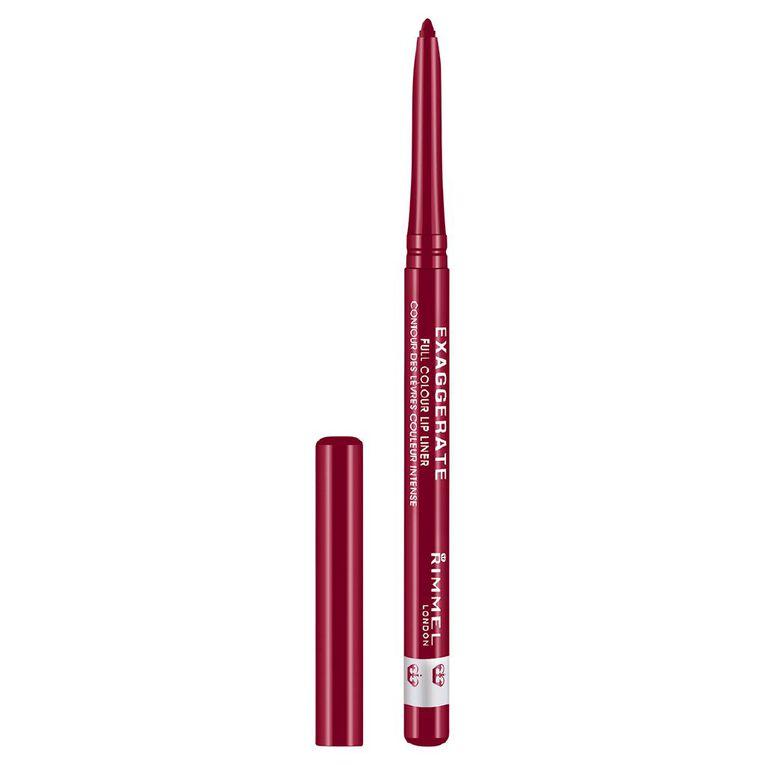 Rimmel Exaggerate Auto Lip Liner Red Diva, , hi-res