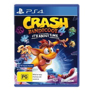 PS4 Crash Bandicoot 4: Its About Time