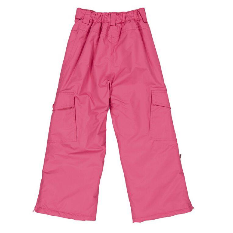 Young Original Girls' Ski Pants, Pink Mid, hi-res