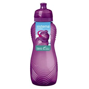 Sistema Wave Bottle Assorted 600ml