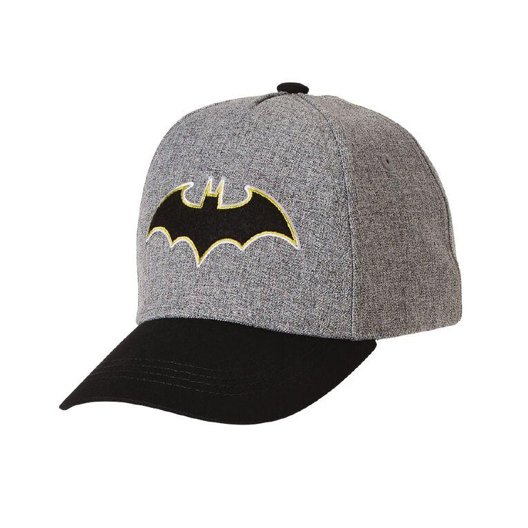 Batman Boys' Cap, Grey, hi-res