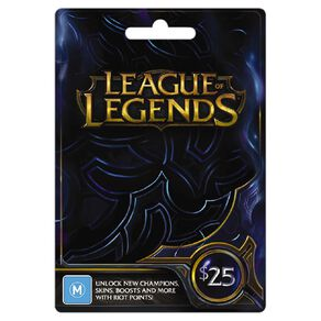 Riot $25 Game Card