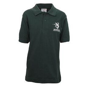 Schooltex Burnside Primary Short Sleeve Polo with Embroidery
