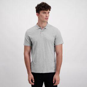 H&H Men's Short Sleeve Plain Pique Polo