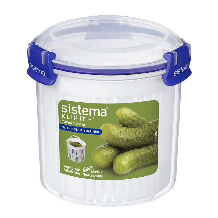 Sistema Klip It Plus Round Assorted 700ml, , hi-res