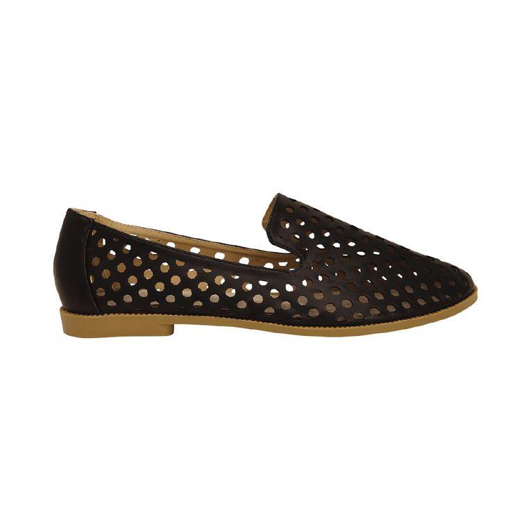 H&H Women's Bree Loafer Shoes, Black, hi-res