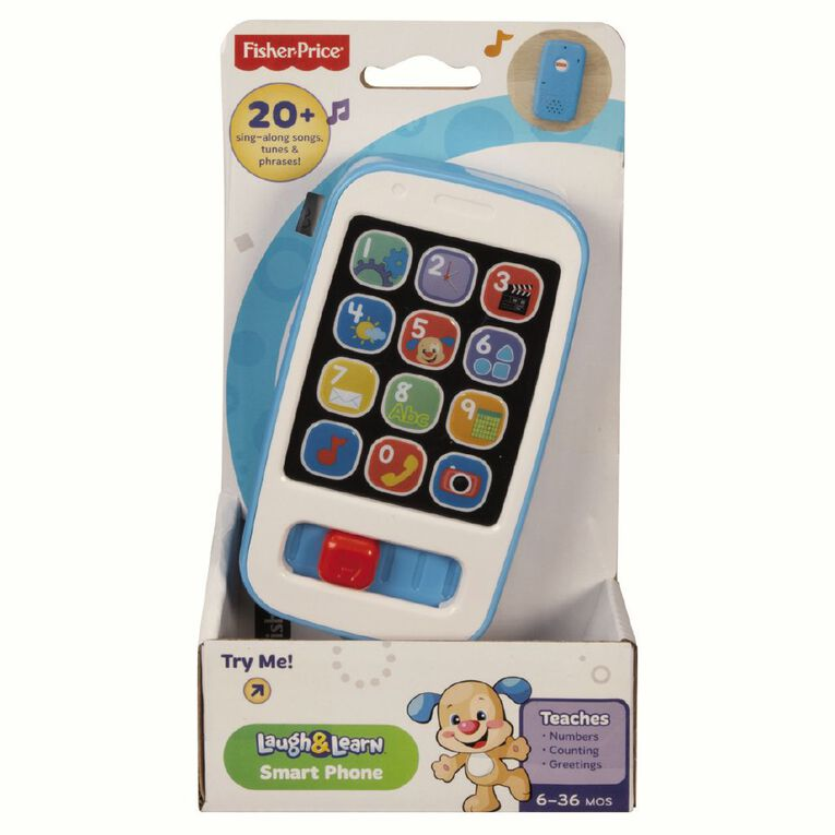 Fisher-Price Laugh & Learn Smart Phone Coloured Assorted, , hi-res image number null