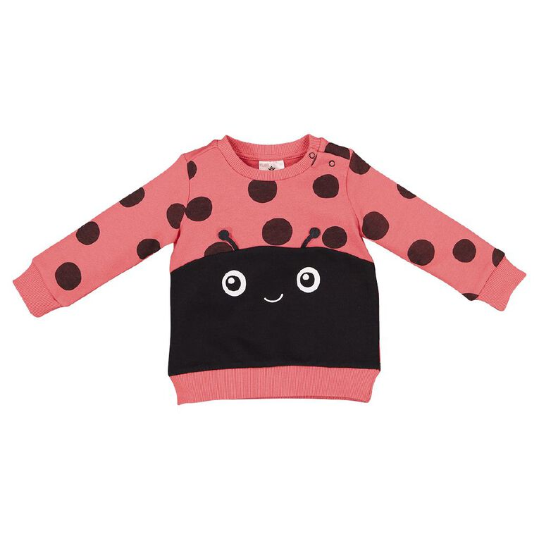 Young Original Baby Novelty Sweatshirt, Grey Dark, hi-res