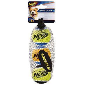NERF 3pk Squeak Tennis Balls