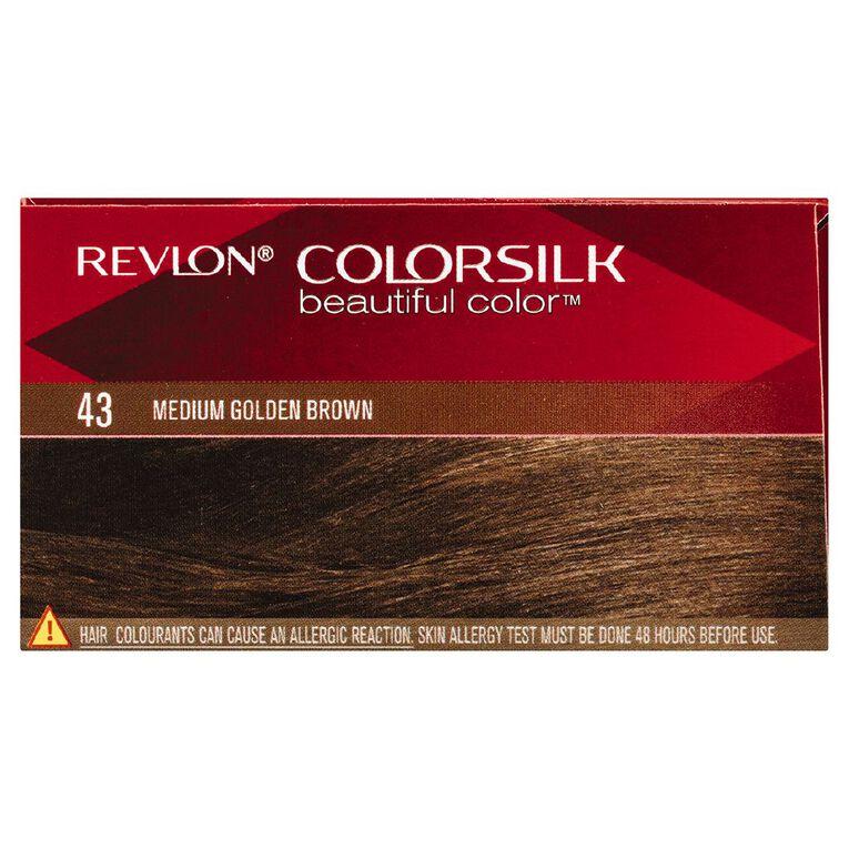 Revlon Colorsilk Medium Golden Brown 43, , hi-res