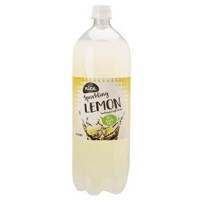 Nice 99% Sugar Free Lemon Carbonated Beverage Drink 1.5L