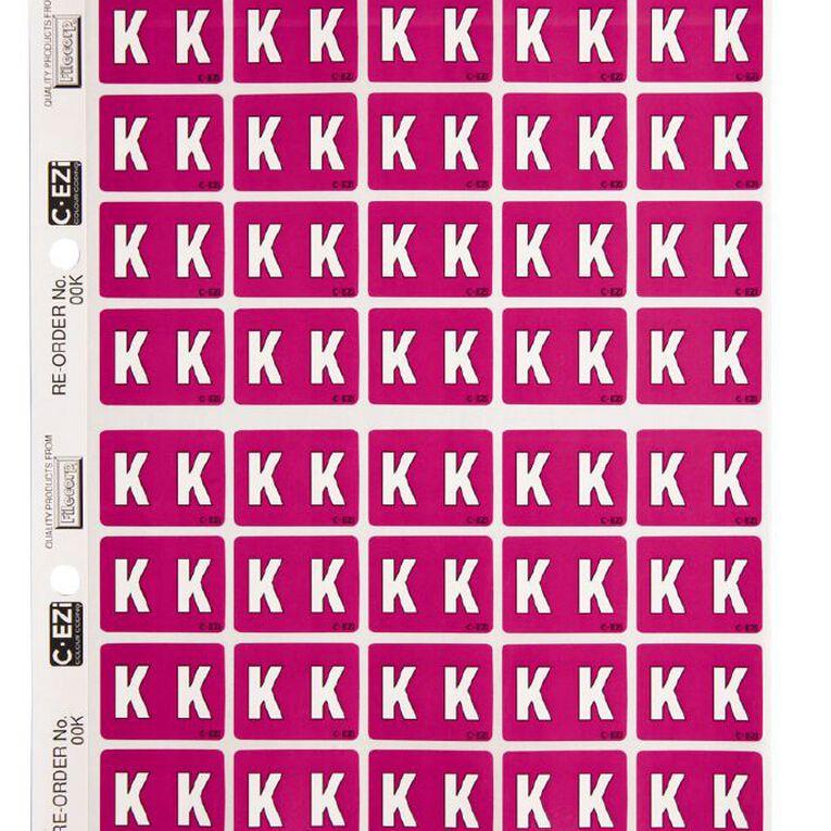 Filecorp Coloured Labels K Purple, , hi-res