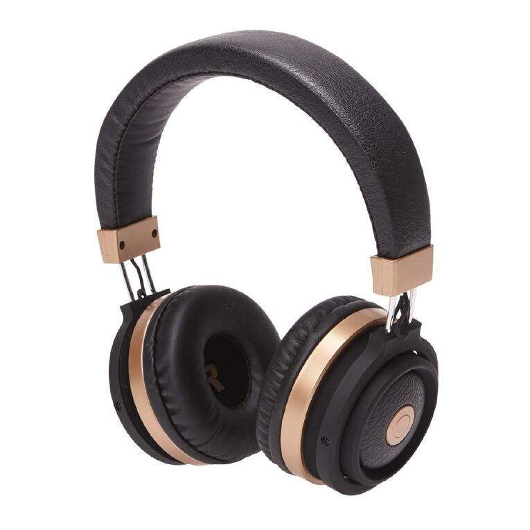 Tech.Inc Resound Bluetooth Headphones Black/Gold, , hi-res