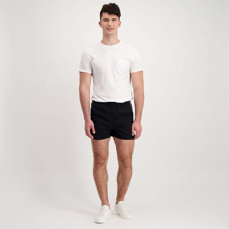 Back Country Men's Rugger Shorts, Black, hi-res