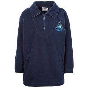 Schooltex Gisborne Central Polar Fleece Top with Embroidery