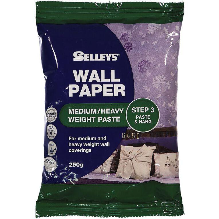 Selleys Medium/Heavyweight Wallpaper Paste 250g, , hi-res image number null