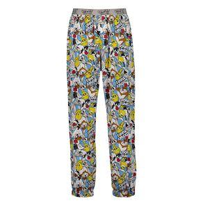 Looney Tunes Men's Knit Pyjama Pants