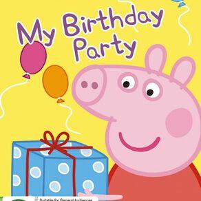 Peppa Pig My Birthday Party DVD 1Disc