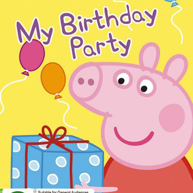 Peppa Pig My Birthday Party DVD 1Disc, , hi-res