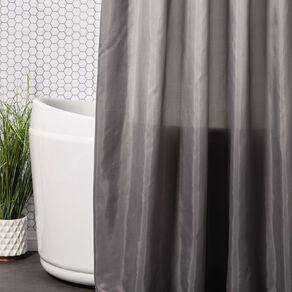Living & Co Shower Curtain Solid 180cm x 180cm