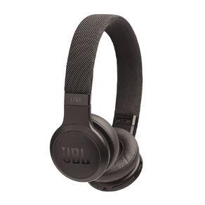 JBL Live 400BT On-Ear Wireless Headphones Black