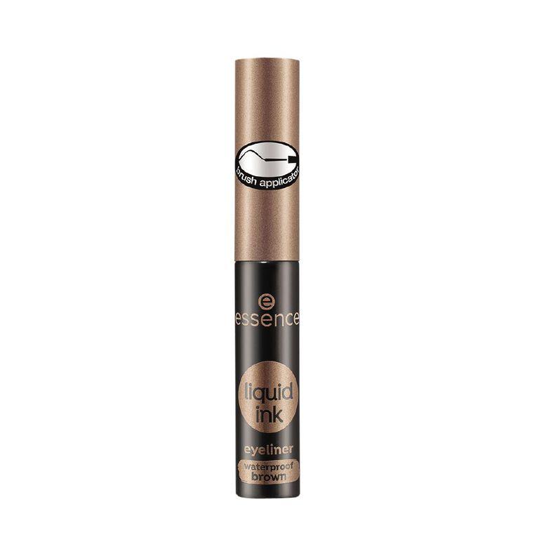 Essence Liquid Ink Eyeliner Waterproof Brown 02, , hi-res