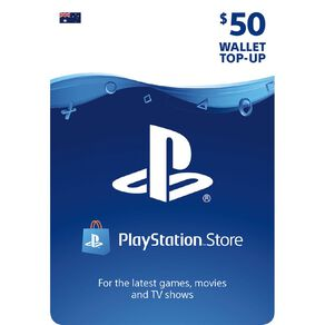 Sony PlayStation $50 Wallet Top-Up