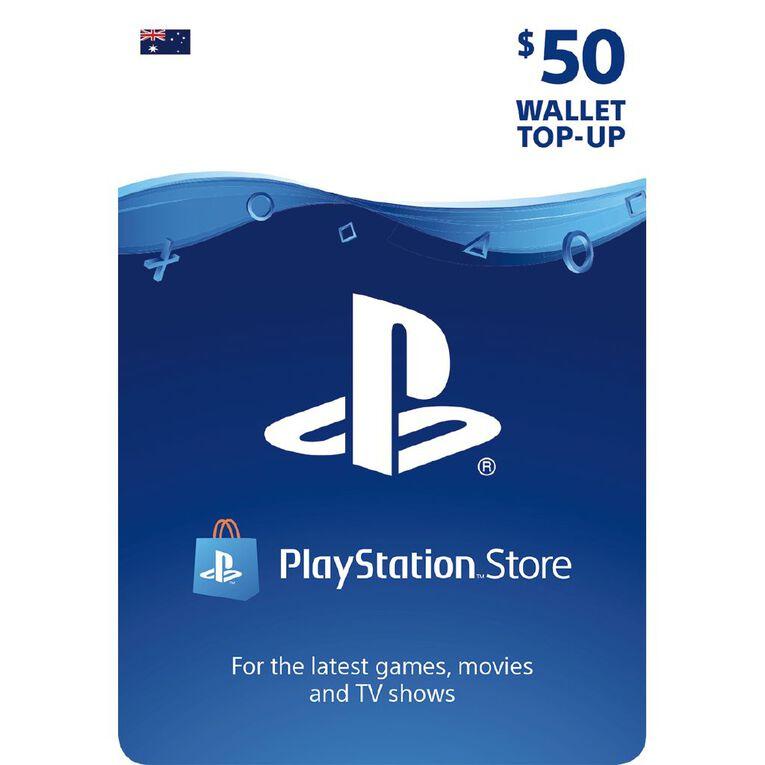 Sony PlayStation $50 Wallet Top-Up, , hi-res