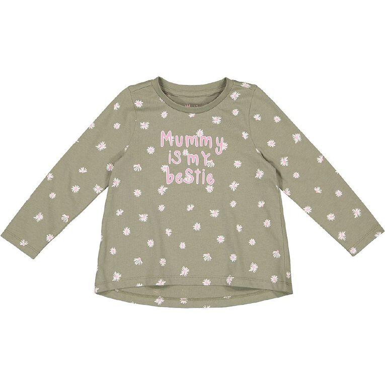 Young Original Toddler Long Sleeve Printed Tee, Grey Mid, hi-res