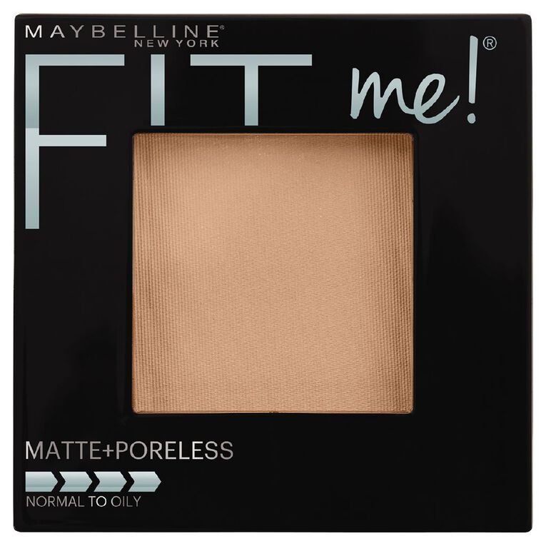 Maybelline Fit Me Pressed Powder Matte & Poreless Pure Beige, , hi-res