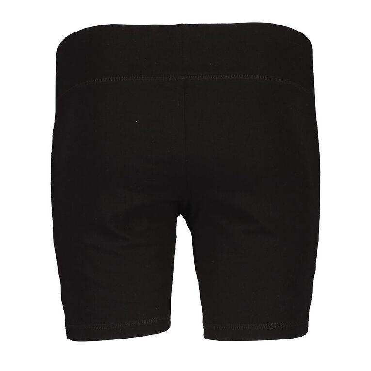 Active Intent Women's Bike Pant Shorts, Black, hi-res